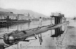 Les sous marins dans la grande guerre