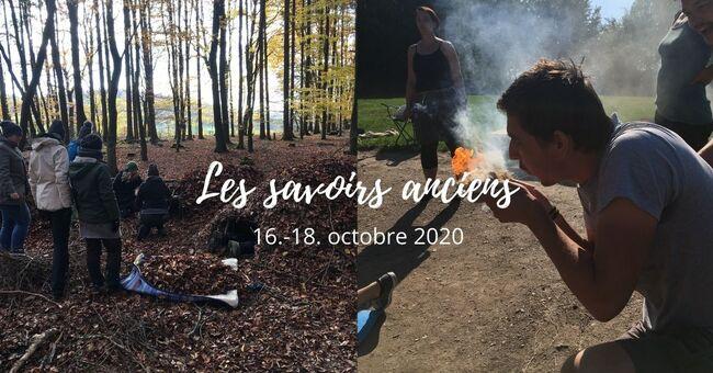 """*stage """"les savoirs anciens"""" le week-end du 16./17./18. octobre"""