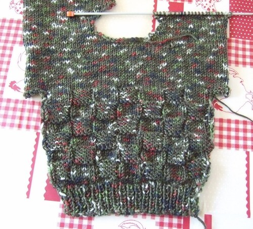 Des envies de tricoter ce mois ci