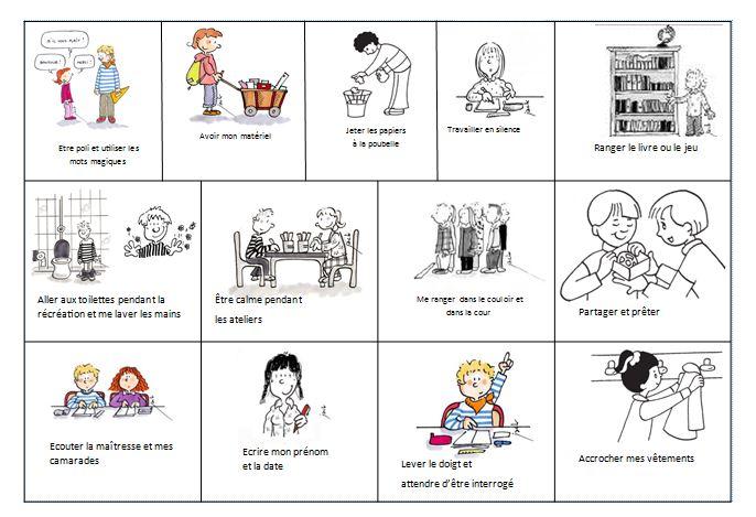 Top Règles de vie de la classe et de l'école CP - Véro à l'école OM27