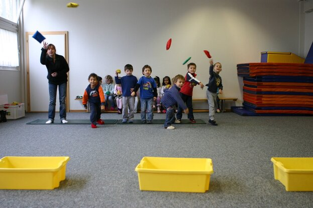 EPS à la maternelle