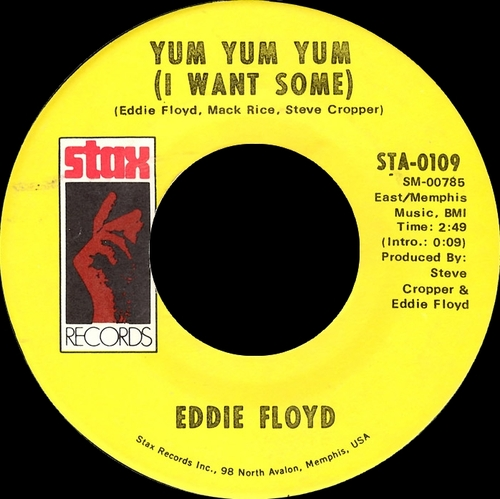 "Eddie Floyd : Album "" Down To Earth "" Stax ‎Records STS-2041 [ US ]"