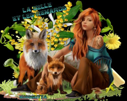 La belle et le renards...merci