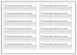 L'alphabet et l'ordre alphabétique CP