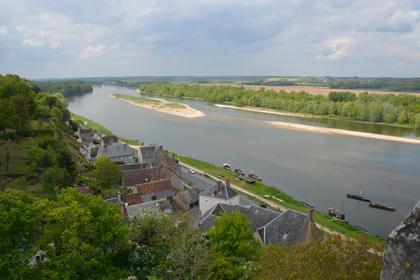 Randonnée à vélo dans le val de Loire (avril 2014)
