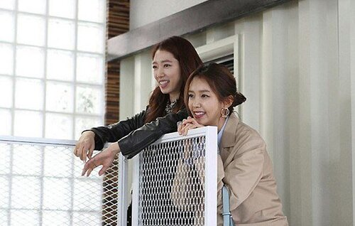 Chae Jeong An et Park Shin Hye : super amies