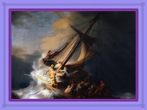 Christ dans la tempête