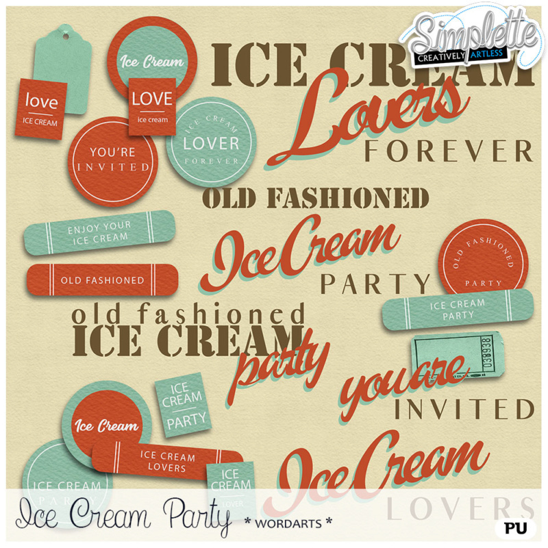 10 août : (old fashioned) ice cream party Simpl423