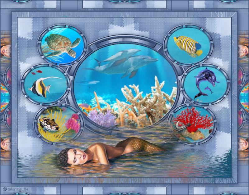 *** Thème de la semaine : Composition sous-marine ***