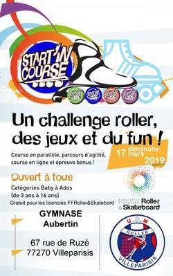 Star'in course - 2e étape dimanche 17 mars 2019 dans le gymnase Aubertin à Villeparisis