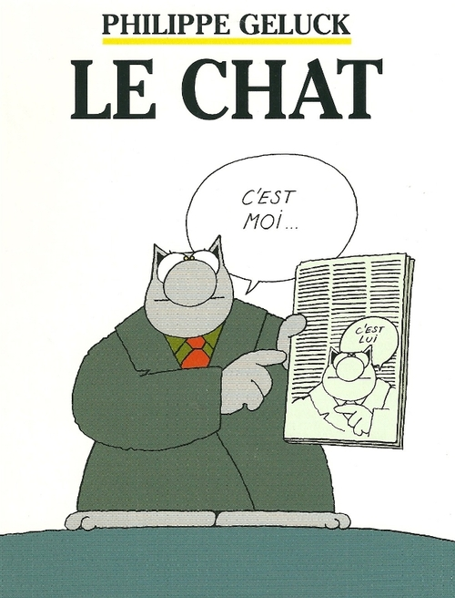 Philippe Geluck a dit....