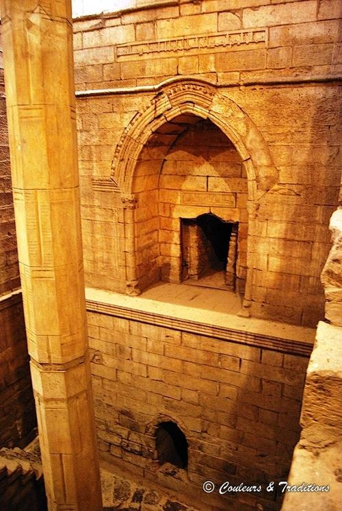 Le nilométre au Caire