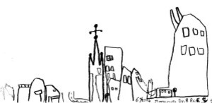 dessine ta ville 4 romain 8 ans