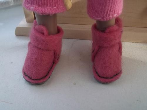 """La tenue """"chaussette"""" d'Angeline"""