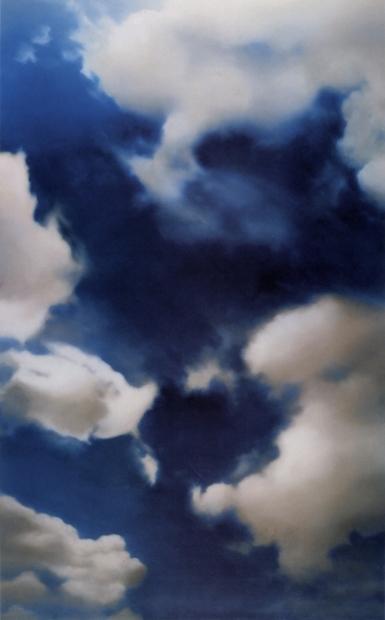 03 - Nuages en peinture, nuages au fusain