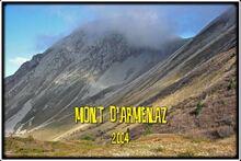 Le Mont d'Armenaz dans les Bauges