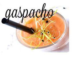 Le gaspacho (soupe de tomate froide)