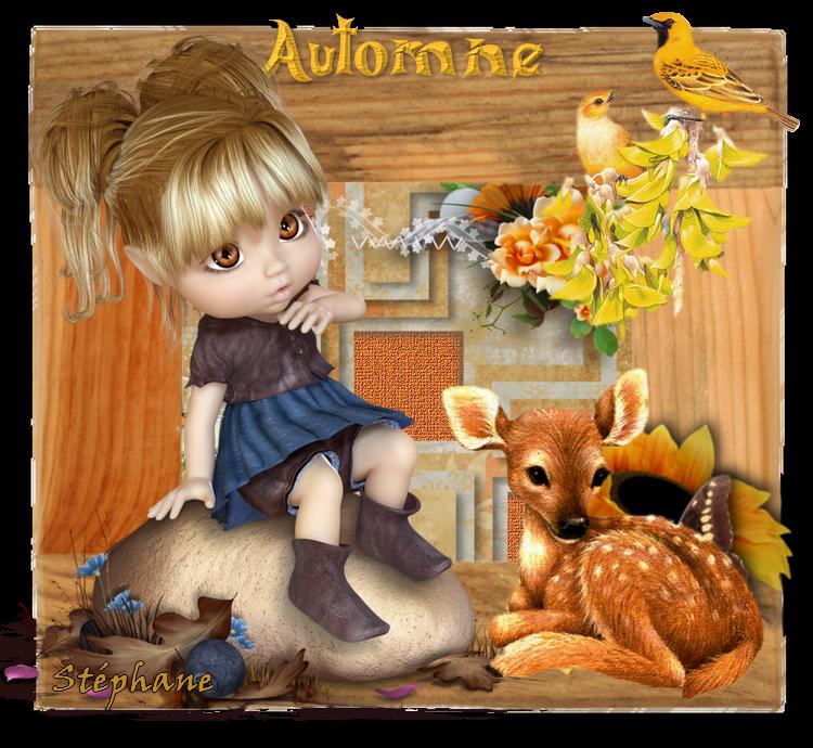 Défi pour mon amie Kikoonette ! kiki automne !