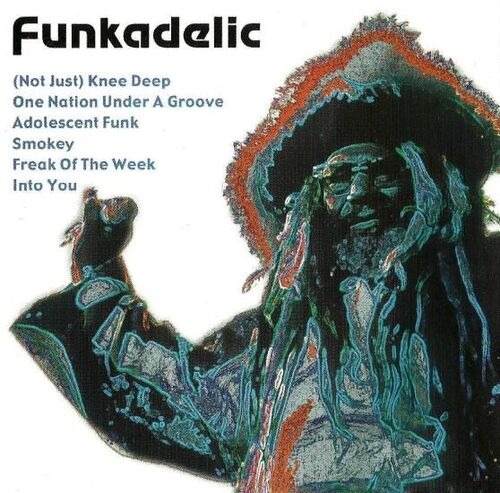 "Funkadelic ‎: CD "" Untitled "" Weton Exclusive Records WX023 [ NL ]"