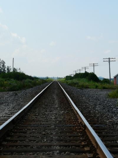 La voie... de chemin de fer