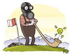 Pollution au mercure en Valais