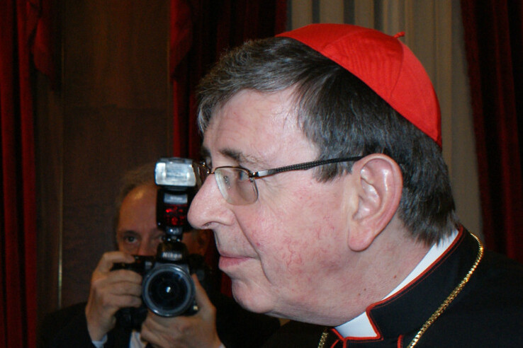 Cardinal Kurt Koch in Constantinopol (Photo: November 2012)