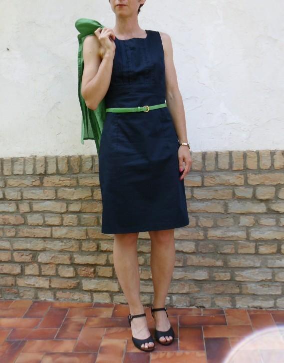 Robe classique verte