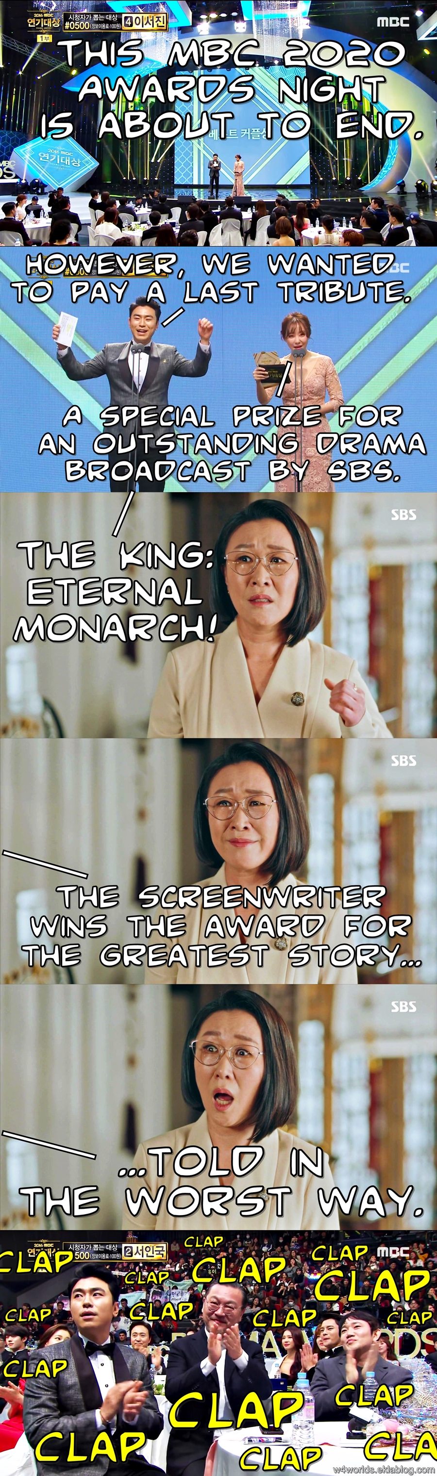 The King: Eternal Monarch Meme 11 - Drama Award