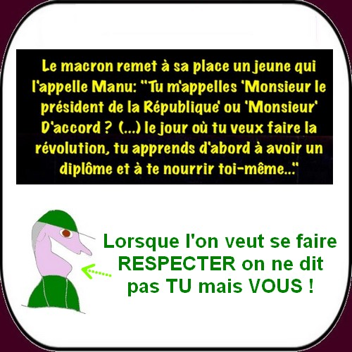 Les infos du mardi où Macron se fâche ainsi que la CGT.