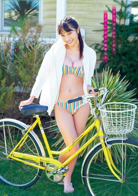 Magazine : ( [Young Magazine] - 2021 / N°20 - Rumika Fukuda & Sarara Saito Staring )