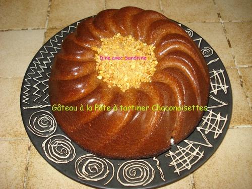 Un Gâteau à la Pâte à tartiner ChocoNoisettes