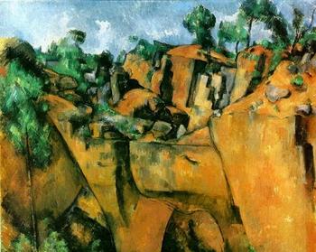 Paul Cézanne, La carrière de Bibémus