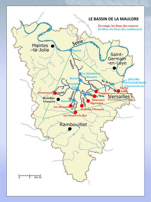 Le bassin de la Mauldre : sources et confluences