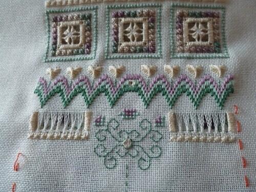 flower patch de loopylou - les avancées -suite 2
