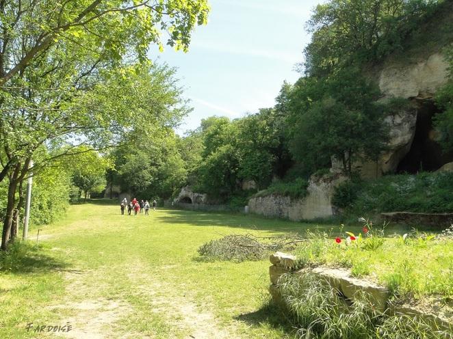 Châteauneuf sur Isère, un site lié à l'histoire de la molasse