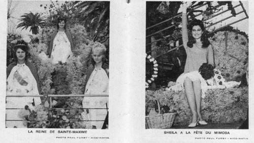 06 février 1967 : Fête du Mimosa, Ste-Maxime - MAJ 18/06/15