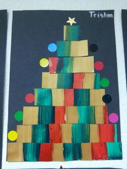 Notre école se pare pour Noël