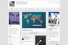 Thème Social Board