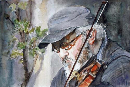 L'homme au violon