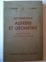 Livres d'école anciens - Maths