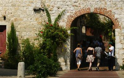 Vue office de tourisme de Penne d'Agenais
