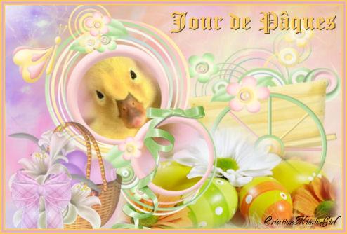 Scrap Jour de Pâques