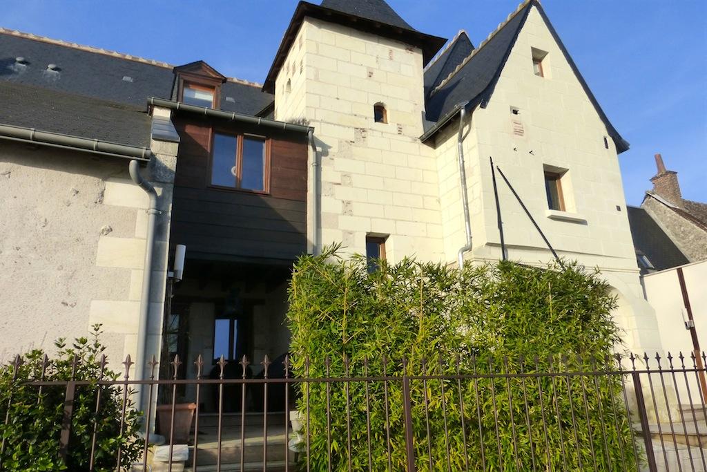 Maisons en bordure de Loire
