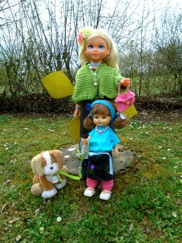 Rosalie, Cathy et Dick en balade