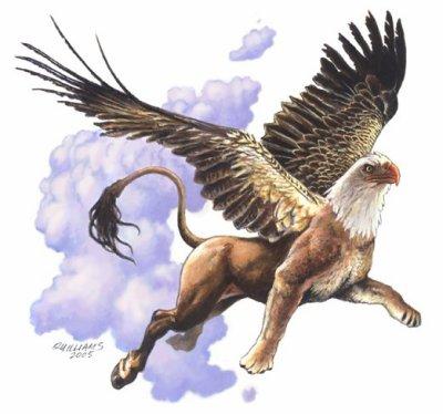 Oiseaux fabuleux et monstres ailés
