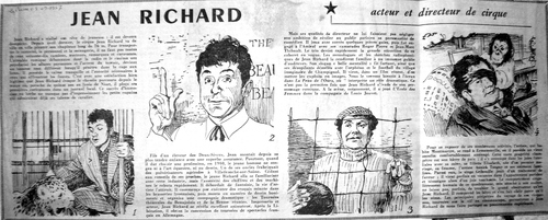 "article paru dans ""La Presse"" en 1957  ( archives Jean Claude Murat)"