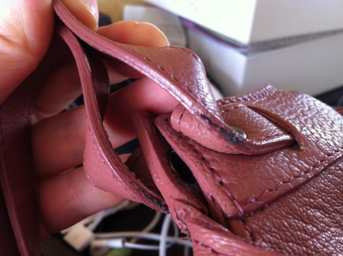 Mes histoires de sac rose... et la fin d'une belle histoire d'amour