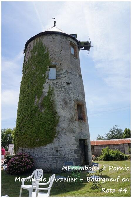 Moulin de l'Arzelier à Bourgneuf en Retz