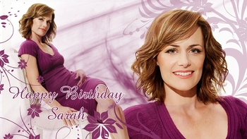 Wallpaper Happy B Sarah