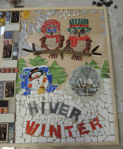 Ecole du Sacré Cœur à Bouvignies- FRESQUE MURALE- Etat des lieux fin mars